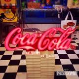 コカコーラ レタリングLEDサイン イメージ