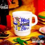 ムーンアイズ ミルキースタッキングマグカップ(WH) イメージ