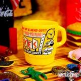 ムーンアイズ ミルキースタッキングマグカップ(YE) イメージ