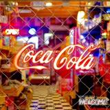 コカコーラ レタリングLEDサイン(Sサイズ) イメージ