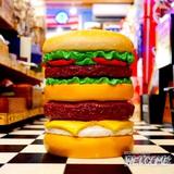 イースね ハンバーガー型のイス イメージ