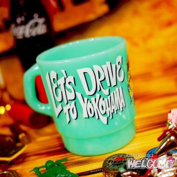 ムーンアイズ ミルキースタッキングマグカップ(GR) イメージ2