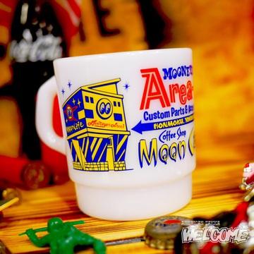 ムーンアイズ ミルキースタッキングマグカップ(WH) イメージ2