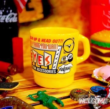 ムーンアイズ ミルキースタッキングマグカップ(YE) イメージ1