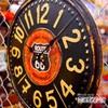 ルート66 ティンプレートクロック イメージ2