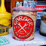 レトロ調 ペール缶スツール(GARAGE) イメージ