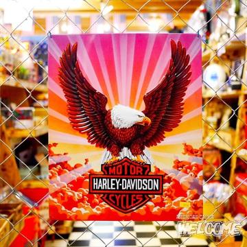 ハーレー エンボスメタルサイン(Eagle) イメージ1