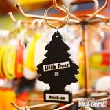 リトルツリー PVC キーチェーン(ブラックアイス)3個セット イメージ