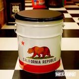 カリフォルニアリパブリック オイル缶スツール イメージ