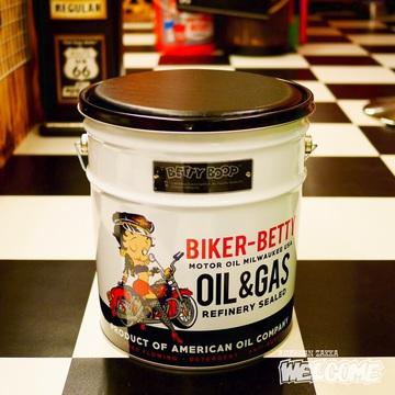 ベティ オイル缶スツール イメージ1