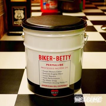 ベティ オイル缶スツール イメージ2