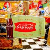 コカコーラ メタルサイン(サーモメーター) イメージ