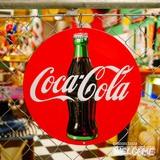コカコーラ エンボスメタルサイン(COKE DISK) イメージ