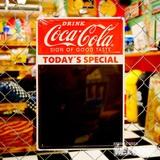 コカコーラ チョークボードメタルサイン イメージ