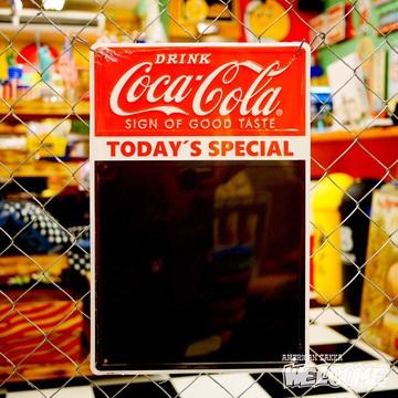 コカコーラ チョークボードメタルサイン イメージ1