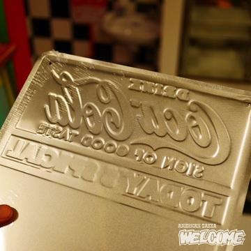 コカコーラ チョークボードメタルサイン イメージ2