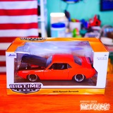 JADA TOYS 1/24 1973 PLYMOUTH BARRACUDA(RD) イメージ