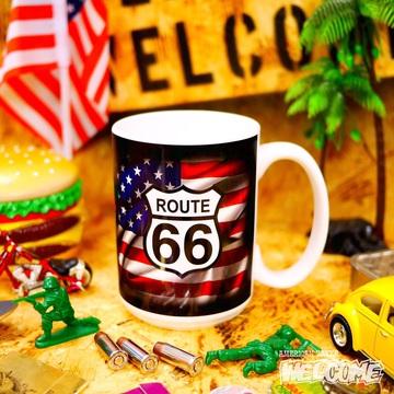 ルート66 マグカップ(星条旗) イメージ1