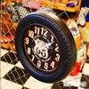 ルート66 タイヤ型壁掛け時計 イメージ2