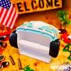 アメリカン トイレットペーパーホルダー(ワーゲンバス風GR) イメージ2