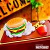 ハンバーガー ティッシュケース イメージ2