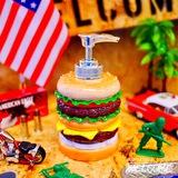 ハンバーガー ソープディスペンサー イメージ