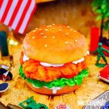 ハンバーガー デコインテリアライト イメージ