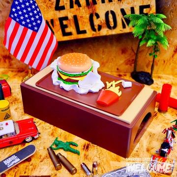 ハンバーガー ティッシュケース イメージ1