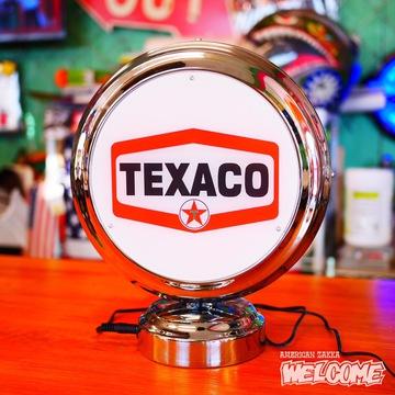 ガスランプネオンクロック(TEXACO) イメージ2