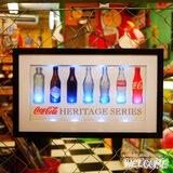 コカコーラ LEDライトアップ ボトルヒストリー イメージ