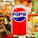 ペプシ 缶型メタルサイン イメージ