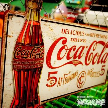 コカコーラ ビッグティンサイン イメージ2