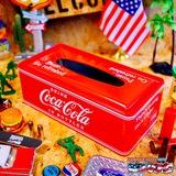 コカコーラ メタルティッシュケース(RD) イメージ