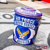 レトロ調 ペール缶スツール(USAF) イメージ
