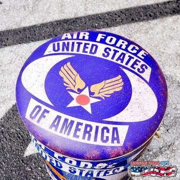 レトロ調 ペール缶スツール(USAF) イメージ2