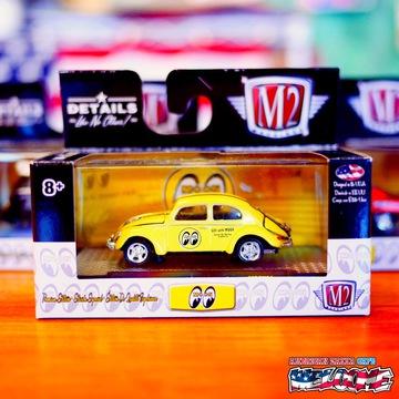 M2マシーンズ・1/64スケール・ムーンアイズ ミニカー(ビートル) イメージ1