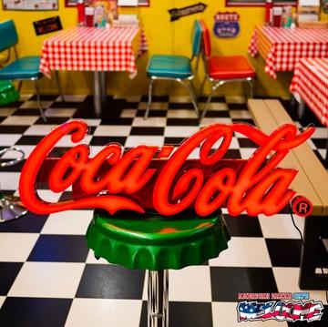 コカコーラ レタリングLEDサイン イメージ1