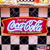 コカコーラ LEDネオンサイン(フィッシュ) イメージ
