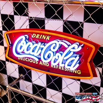 コカコーラ LEDネオンサイン(フィッシュ) イメージ2
