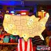 アメリカンサイン(USA MAP WH) イメージ1
