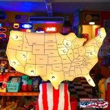 アメリカンサイン(USA MAP WH) イメージ